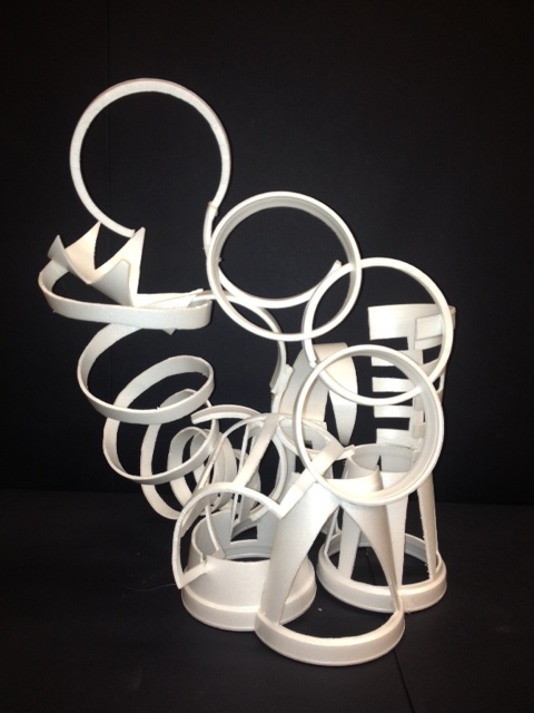 Very best Digication e-Portfolio :: kkurzner :: styrofoam cup sculpture DI57
