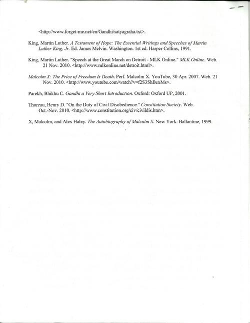 martin luther king jr speech paper