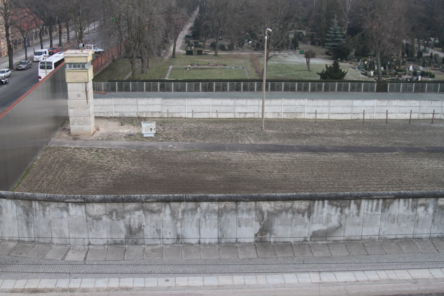 east and west Berlin wall: berlin wall, barrier that surrounded west berlin and prevented access to it from east berlin and adjacent areas of east germany during the period from 1961 to 1989.