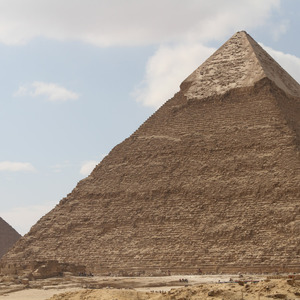 Pyramids of Khafre and Menkaure