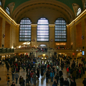 Interior of Grand Central Terminal