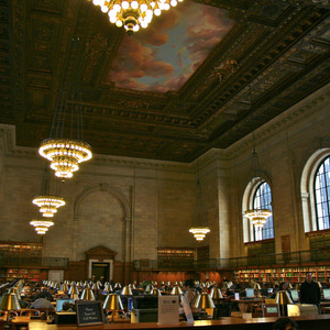 Reading Room of the New York Public Library