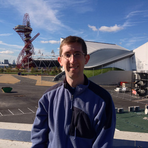 Me at London Olympic Park
