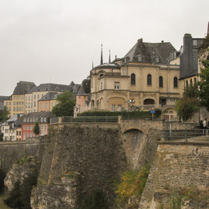Walls of Luxembourg