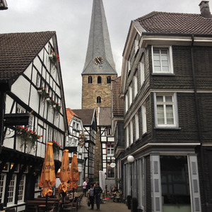 Old street in Hattingen