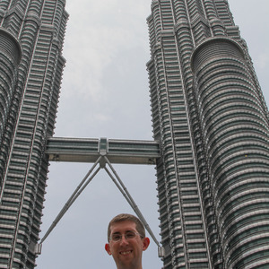 Me at Petronas Twin Towers