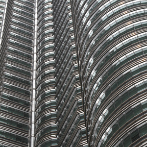 Detail of Petronas Twin Towers