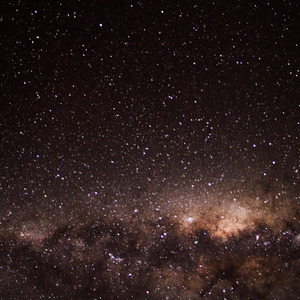 The Milky Way in the southern sky