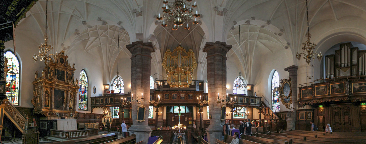 Interior of the German Church