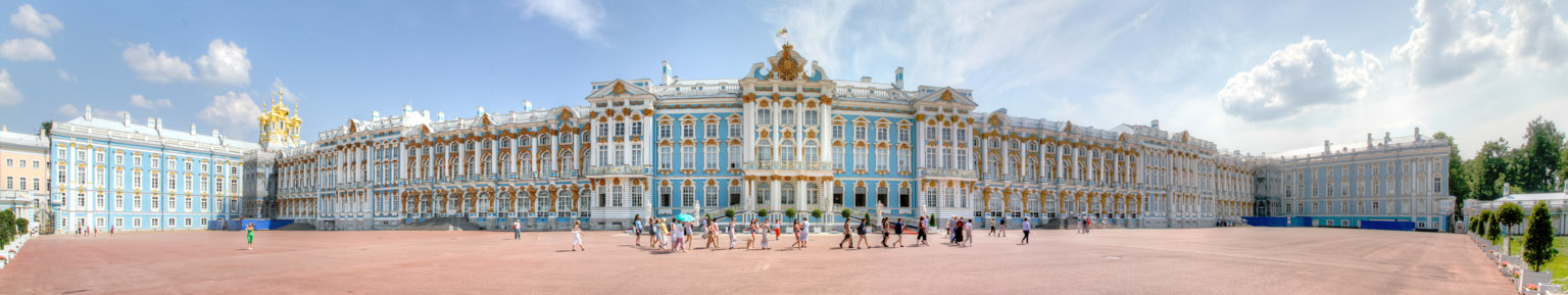 Catherine Palace panorama