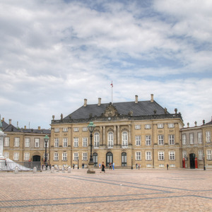 Amalienborg Palace and square