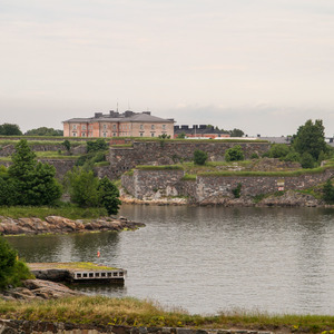 Fancy home in Suomenlinna fortress