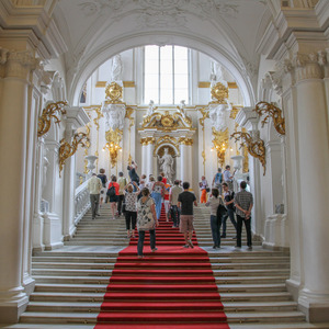 Entrance to the Hermitage museum