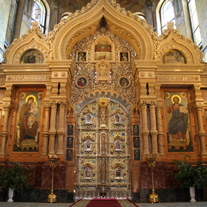 Altar screen, Church on Spilled Blood