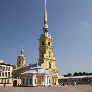 Cathedral of Saints Peter and Paul, Peter and Paul Fortress