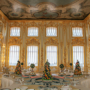 Breakfast room, Catherine Palace