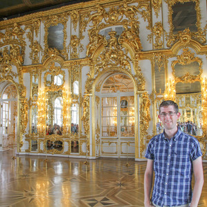 Me in the Great Hall, Catherine Palace