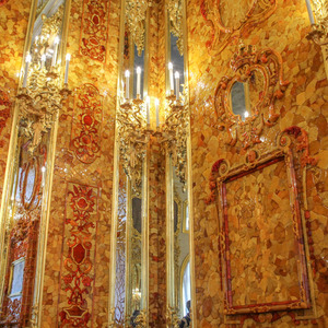 The Amber Room, Catherine Palace
