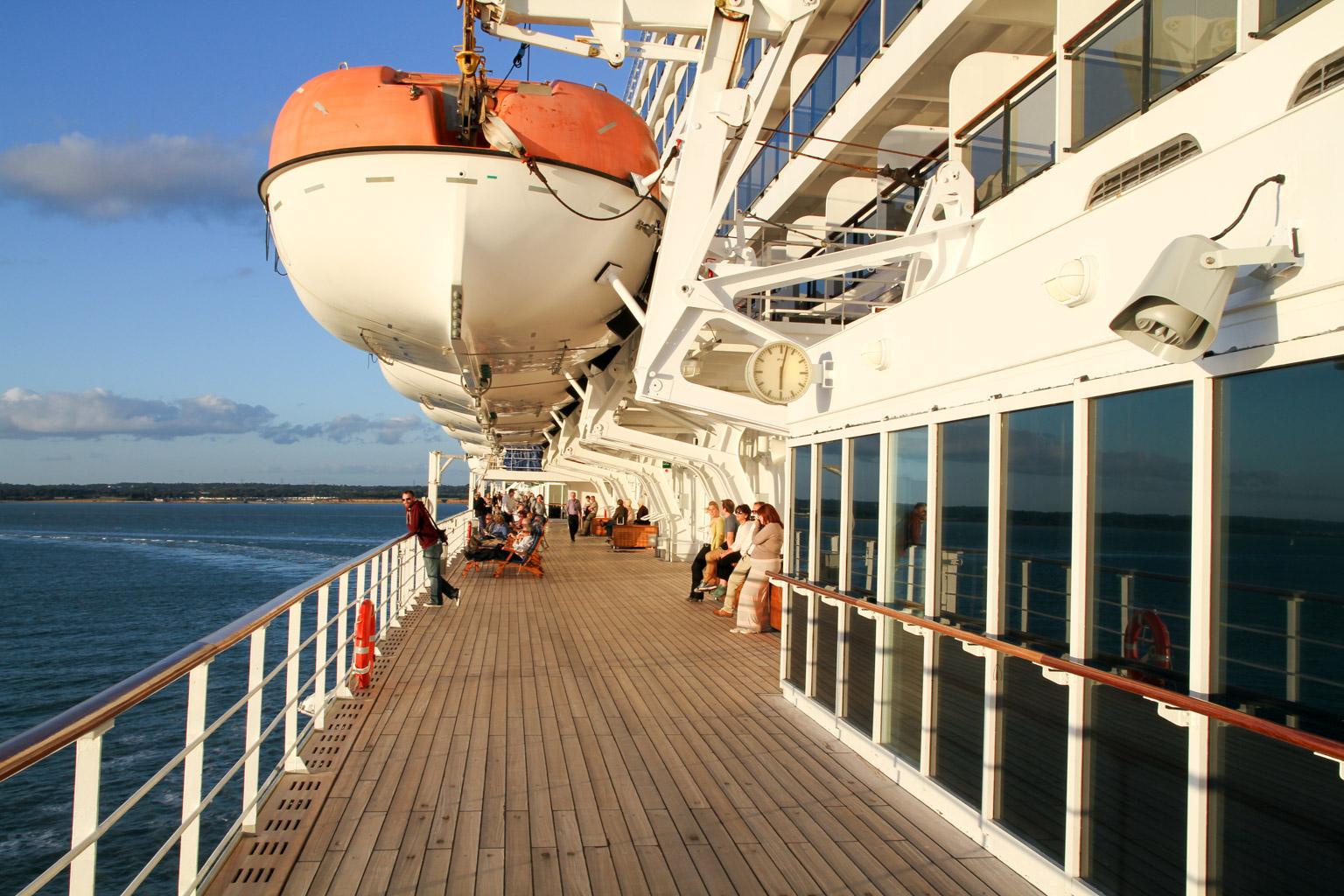 Queen Mary 2 cruise • October, 2014 • Douglas Stebila