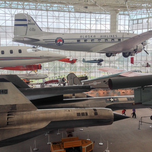 Planes at the Seattle Museum of Flight