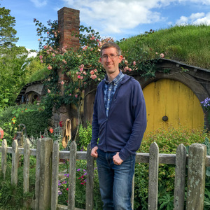 Me at Samwise Gamgee's house