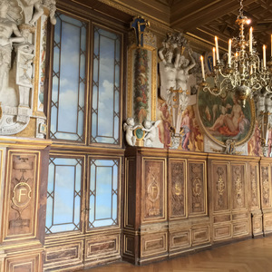 Walls of the Gallery of Francis I at Fontainebleau