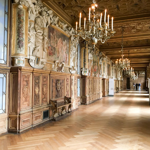 Gallery of Francis I at Fontainebleau