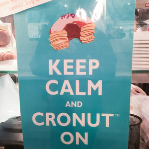 Cronut sign