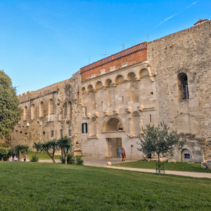 Walls of Split's Diocletian Palace