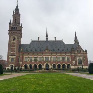 Peace Palace, home of the International Court of Justice