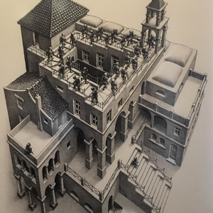 Ascending and Descending, MC Escher