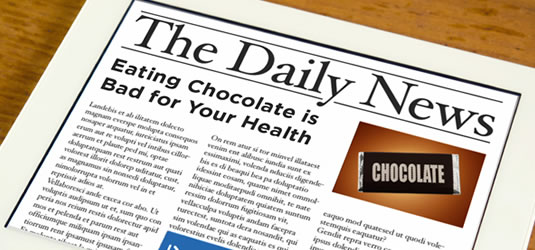 Headline - Chocolate is Bad for Your Health