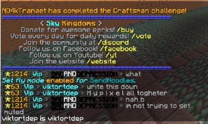 Banned for saying dont like hypixel Ban Appeal