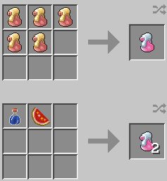 Pixelmon Crafting Recipes (Not ready!)