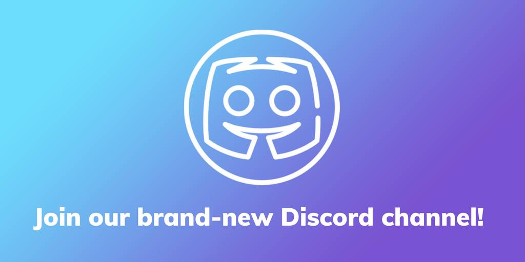 We are now on Discord!