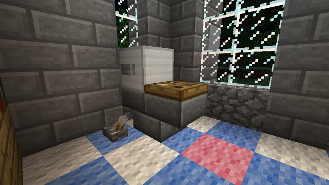 minecraft upside down stair toilet - Bathroom Ideas Minecraft