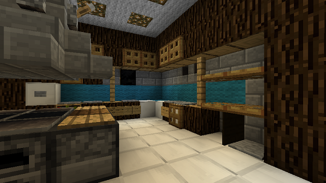 minecraft furniture - kitchen
