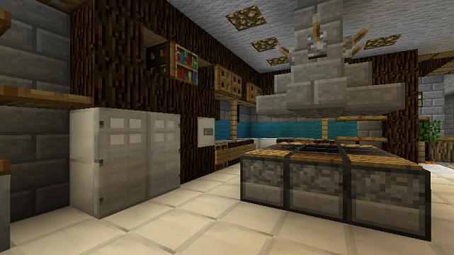Minecraft Kitchen Ideas Xbox minecraft furniture - kitchen