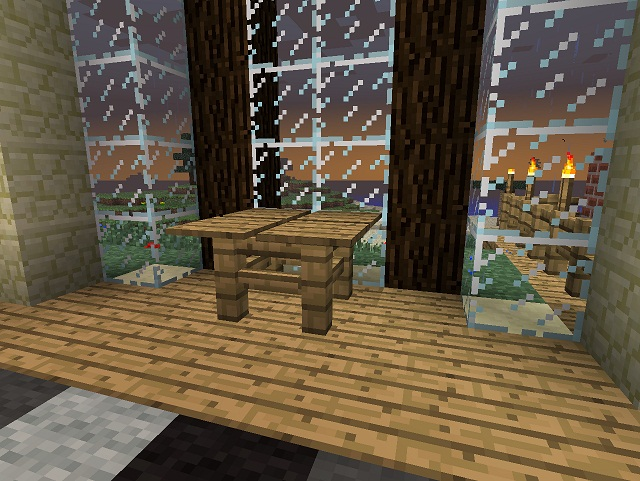 how to make glass panes in minecraft xbox 360