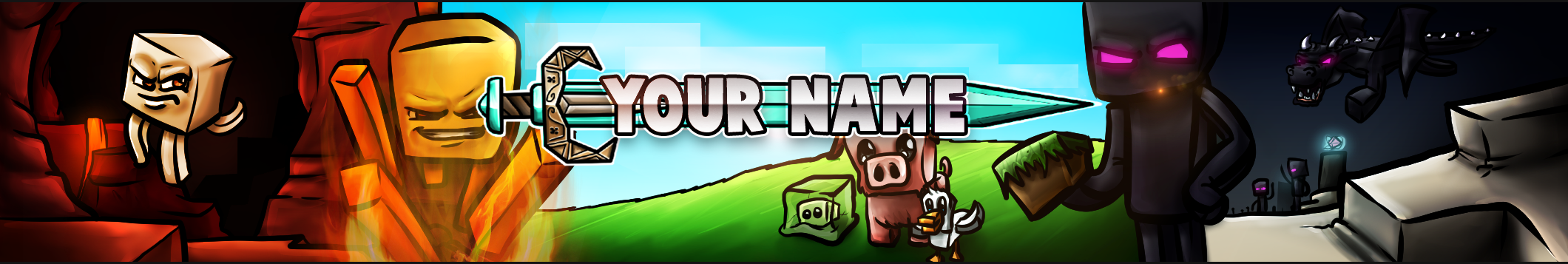 Free YouTube Banners!