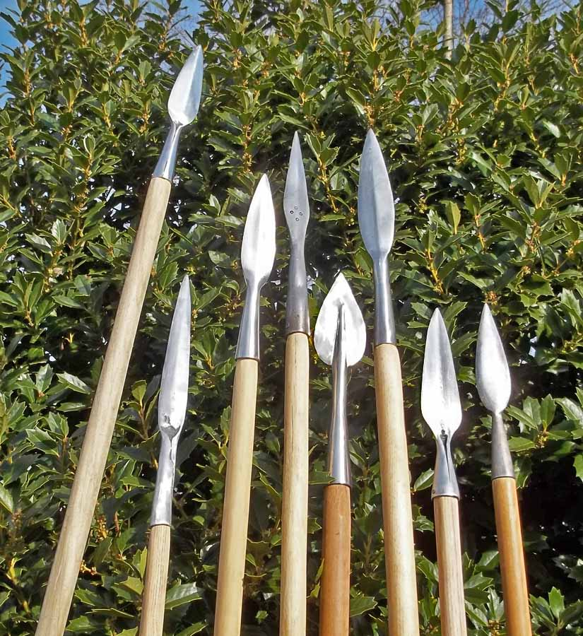 Spears: Stick 'em with the pointy end!