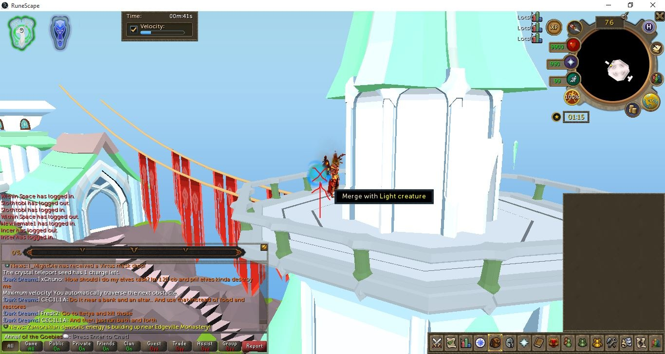 Wiki AFK Hefin Agility Course Guide