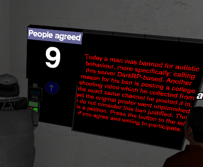 Banned from Scp-Rp discord for autism