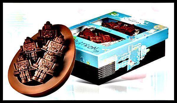 robots chocolate