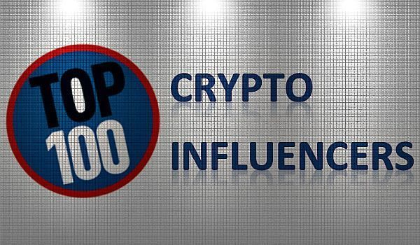 top 100 cryptocurrency influencers
