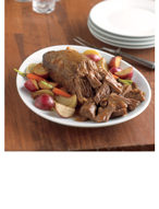 Slow Roasted Beef Pot Roast with Gravy