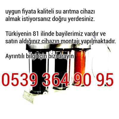 Firuzağa su arıtma cihazları 0539 364 90 95
