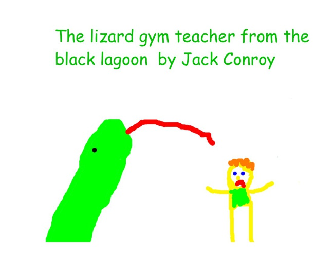 The Lizard Gym Teacher from the Black Lagoon