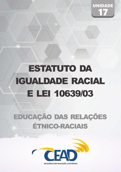 RELACOES ETNICO-RACIAIS - UNIDADE 17
