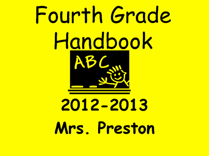 Curriculum Night 2012